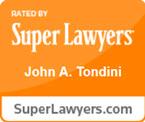 John A. Tondini Super Lawyers