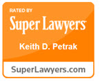 Keith D. Petrak Super Lawyers